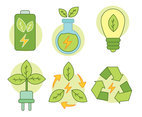Green Energy Element Vector