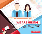 Hiring Announcement Vector