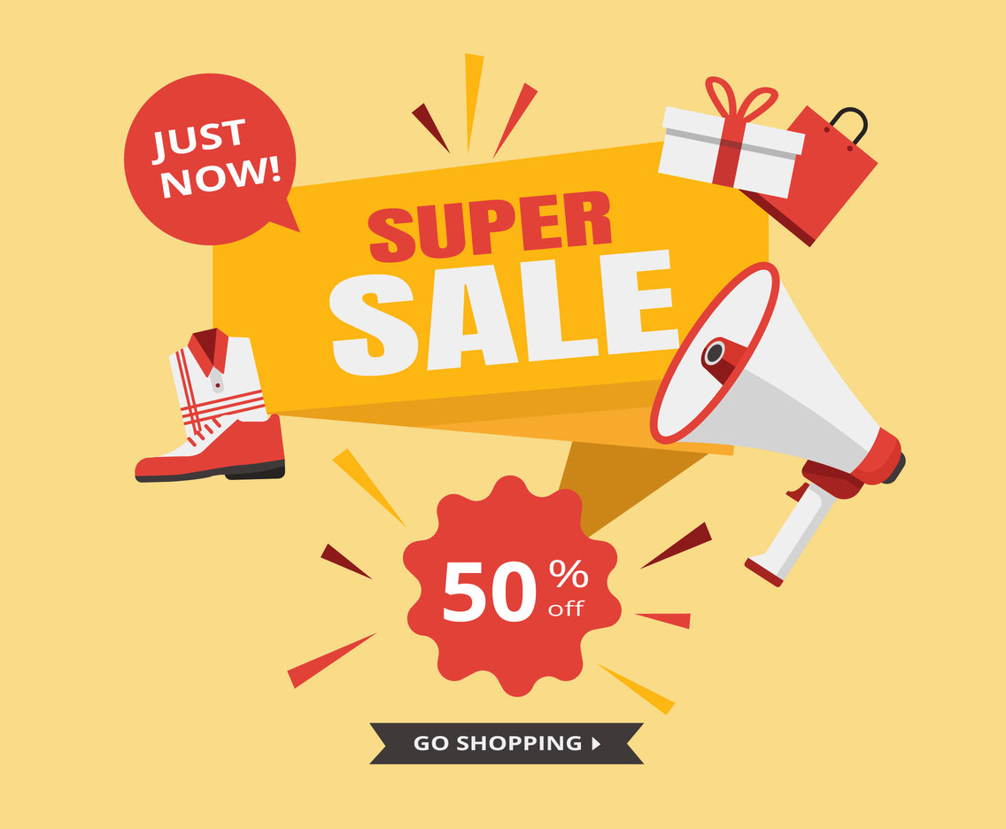 Super Sale Vector