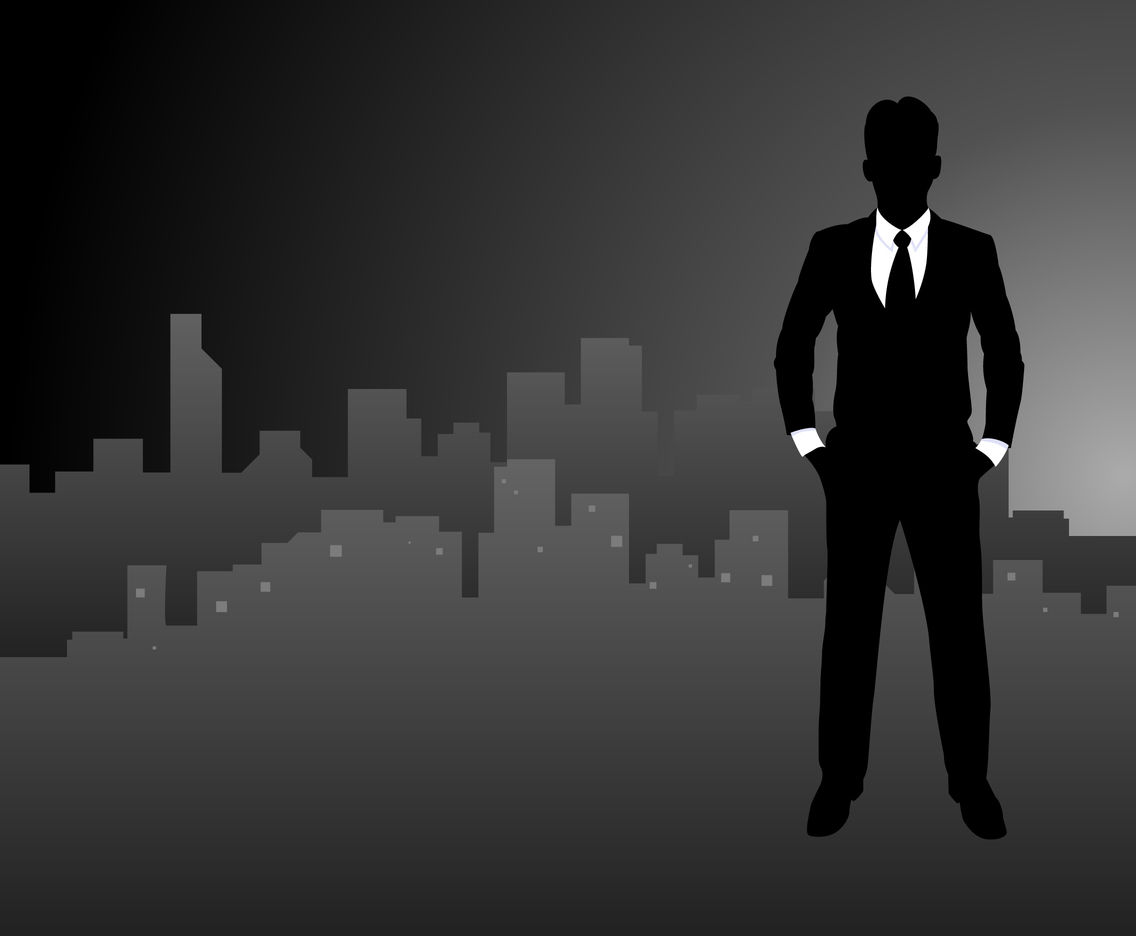 Iconic Business Man Vectors