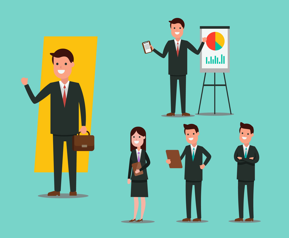 Business Activity Vector