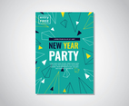 Geometric Party Flyer Template