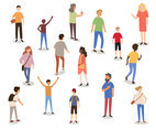 People with Activity Vector