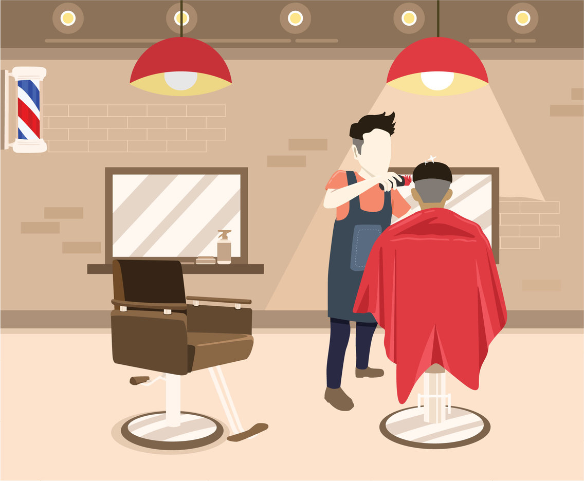 At the Barbershop Vector