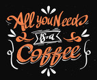 Coffee Hand Lettering