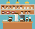 Cafe Shop Vector