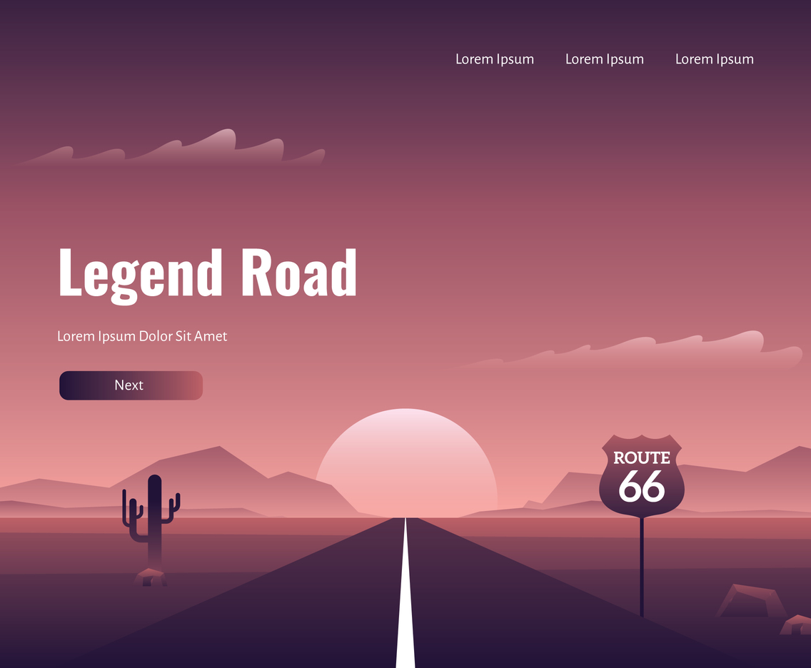 Route 66 Legendary Road
