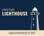 Lighthouse Vintage Background