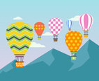 Outstanding Hot Air Balloon Vectors