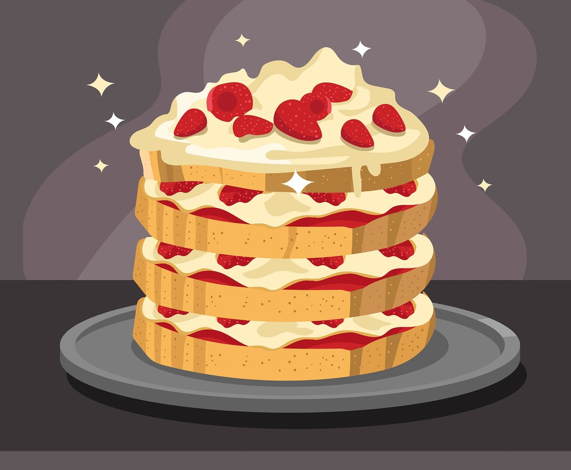 Layer Cake Vector Art & Graphics   freevector.com