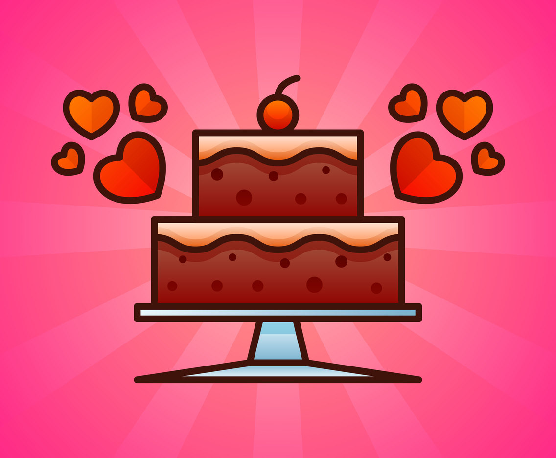 Delicious Layer Cake Vectors