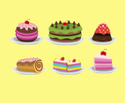 Sweet Cakes Vector