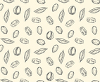 Pecan Seamless Pattern