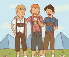 Friends In Lederhosen