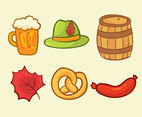 Hand Drawn Oktoberfest Element Vector