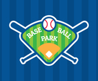 Baseball Park Badge