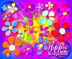 Hippie Background Vector