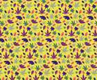 Cannabis Pattern Vector