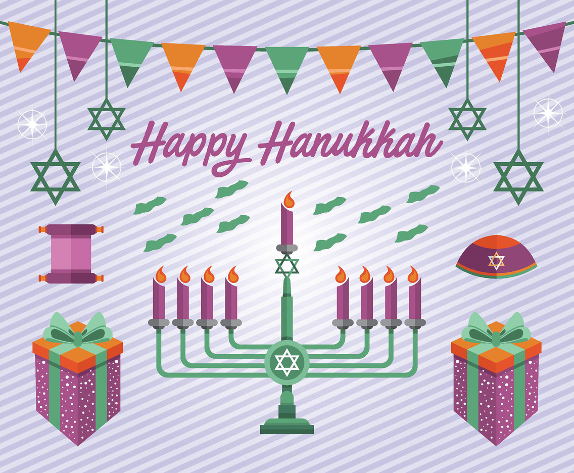 Hanukkah Vector Pack