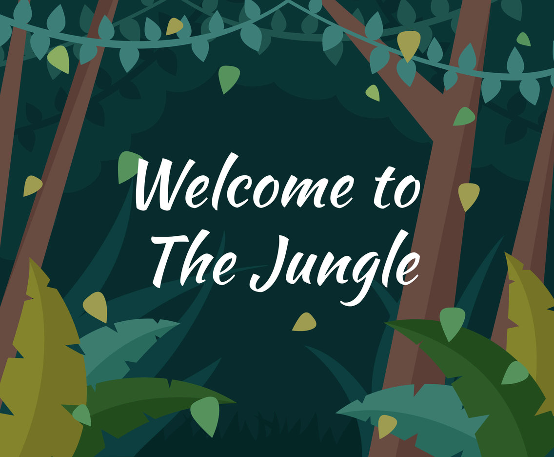 Unique Jungle Explorers Vectors