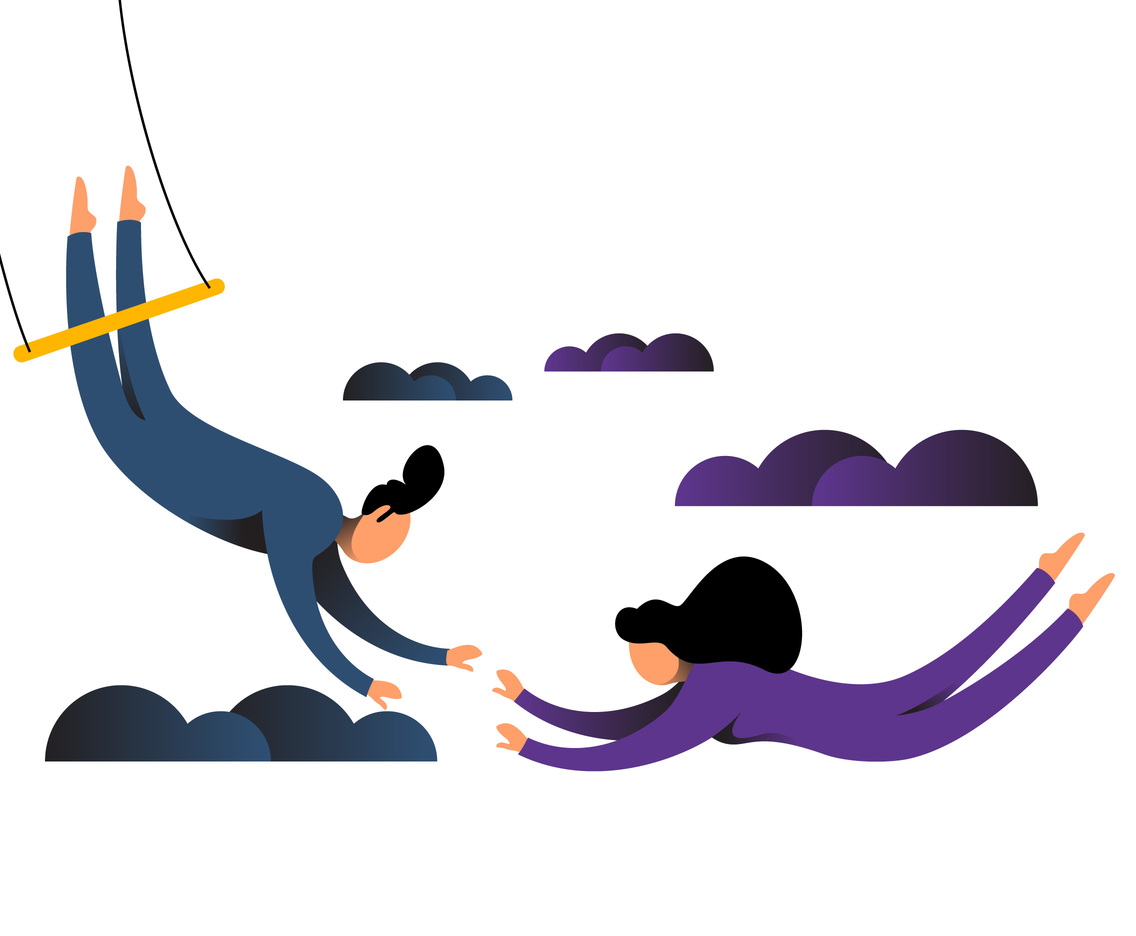 Awesome Trapeze Artist Vectors