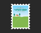 Vineyard Postal Stamp