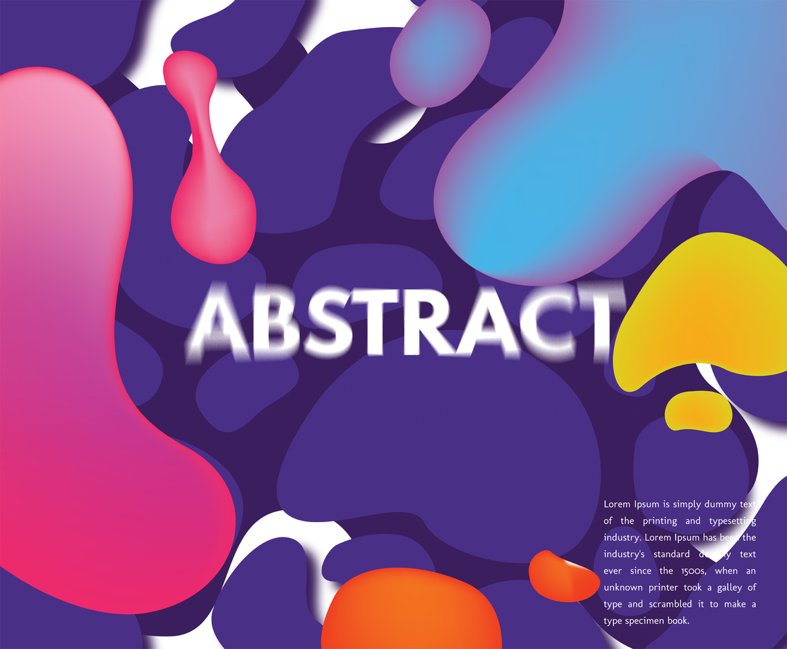 Abstract Background Vector Design