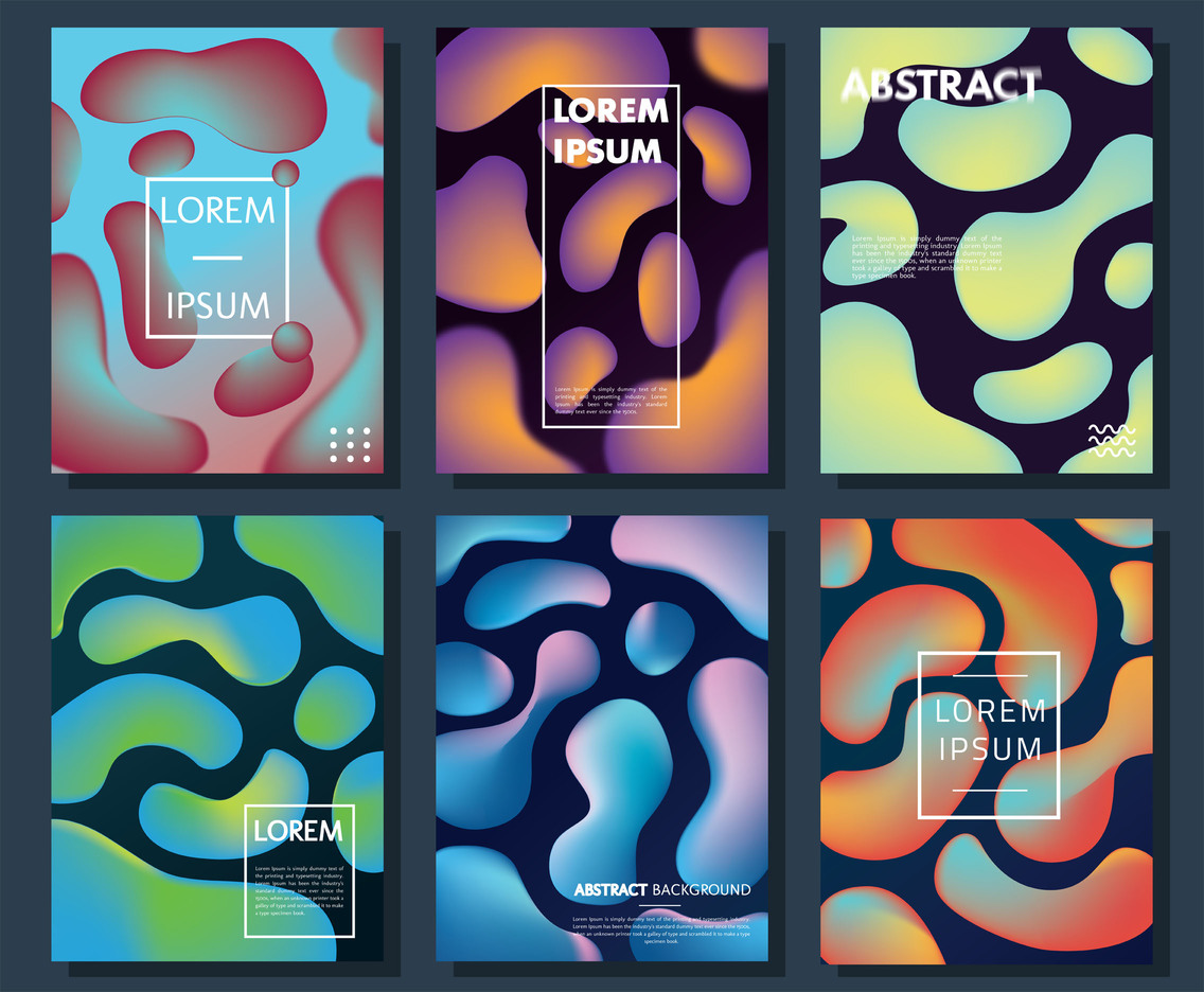 Abstract Background Vector Pack