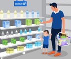 Grocery Shop Vector