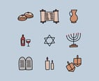 Doodled Jewish Elements