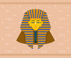 Pharaoh Illustration Vector
