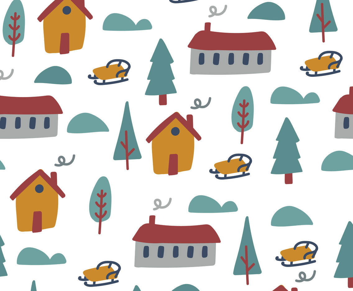 Winter Village Pattern