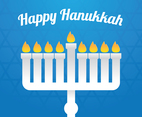 Happy Hanukkah Paper Art