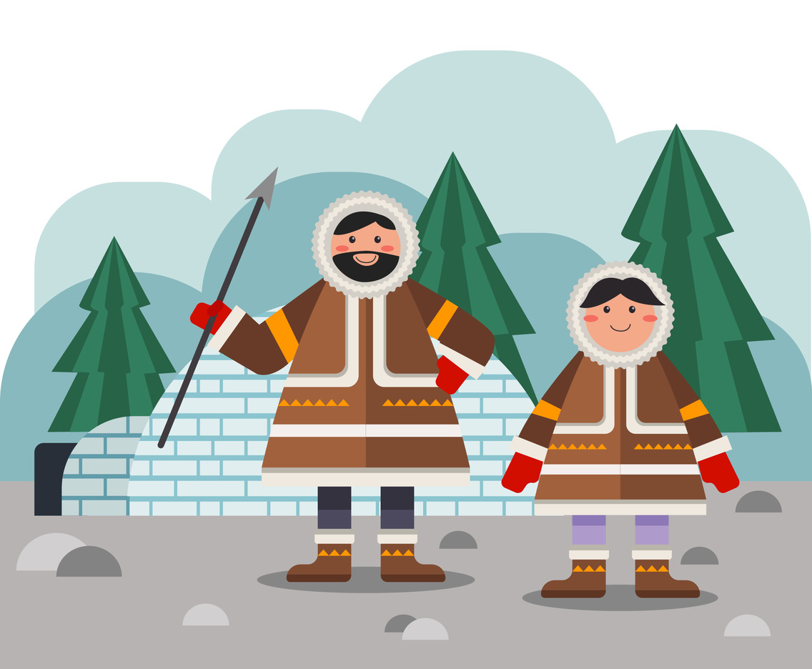 The Eskimo Life Vector