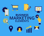 Marketing Elements Design Vector
