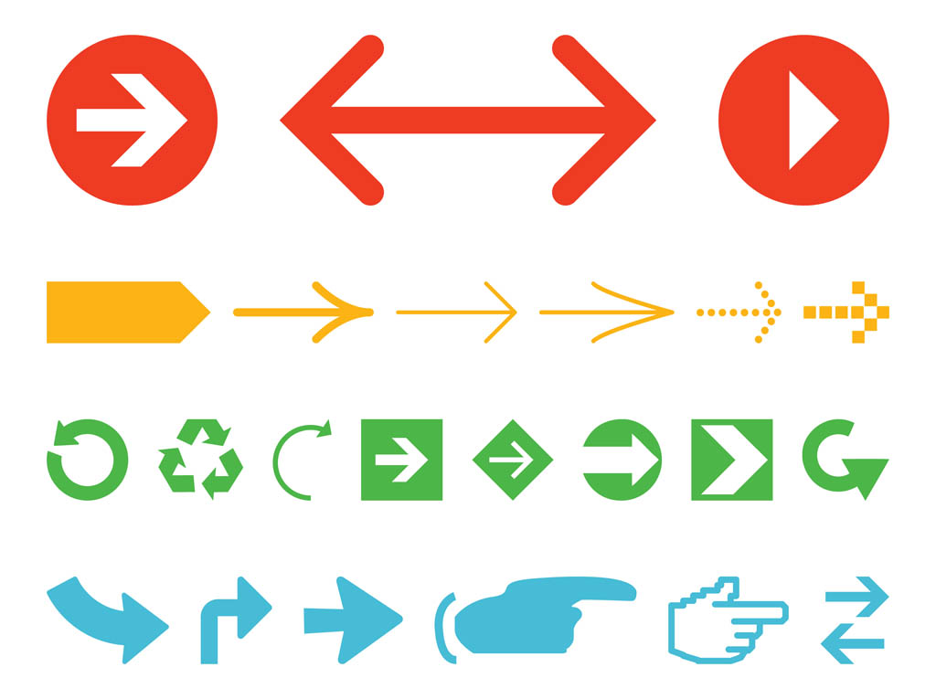 Arrows Graphics Pack