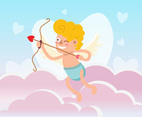 Cute Cupid Vector
