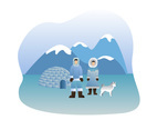 The Eskimo People Vector