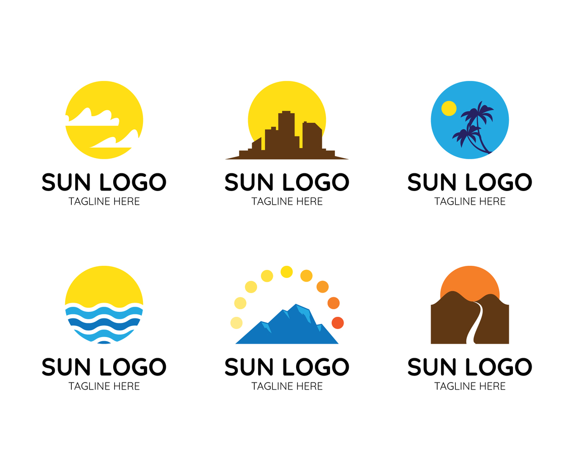 Sun Logo Collections
