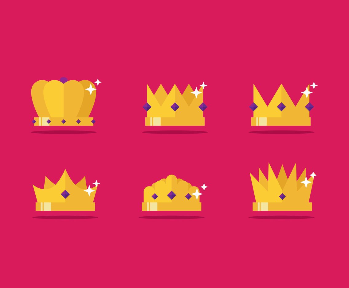 Crown Flat Icon