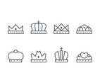 Crown Linear Art