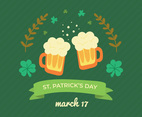 Cute Doodled For St. Patrick's Day