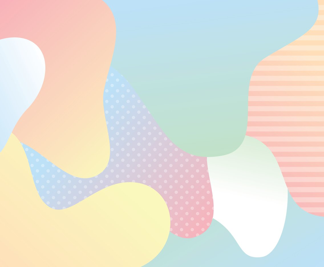 Pastel Wave Background
