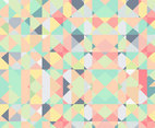 Geometric Pastel Background Vector