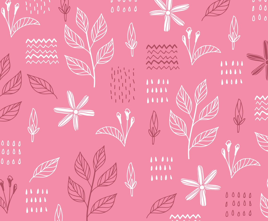 Pink Floral Background Vector Art Graphics Freevector Com