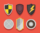 Shield Clipart Set