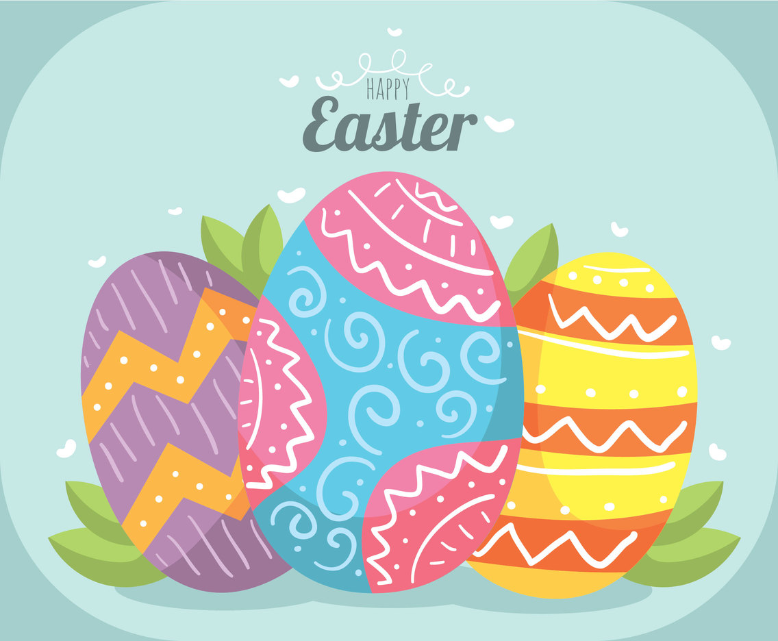 Happy Easter Egg Vector Vector Art Graphics Freevector Com