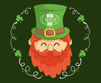 Hand Drawn Happy St Patricks Day Vector