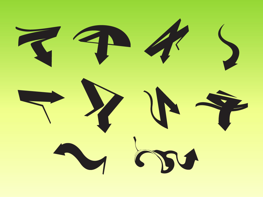 Creative Arrow Vectors
