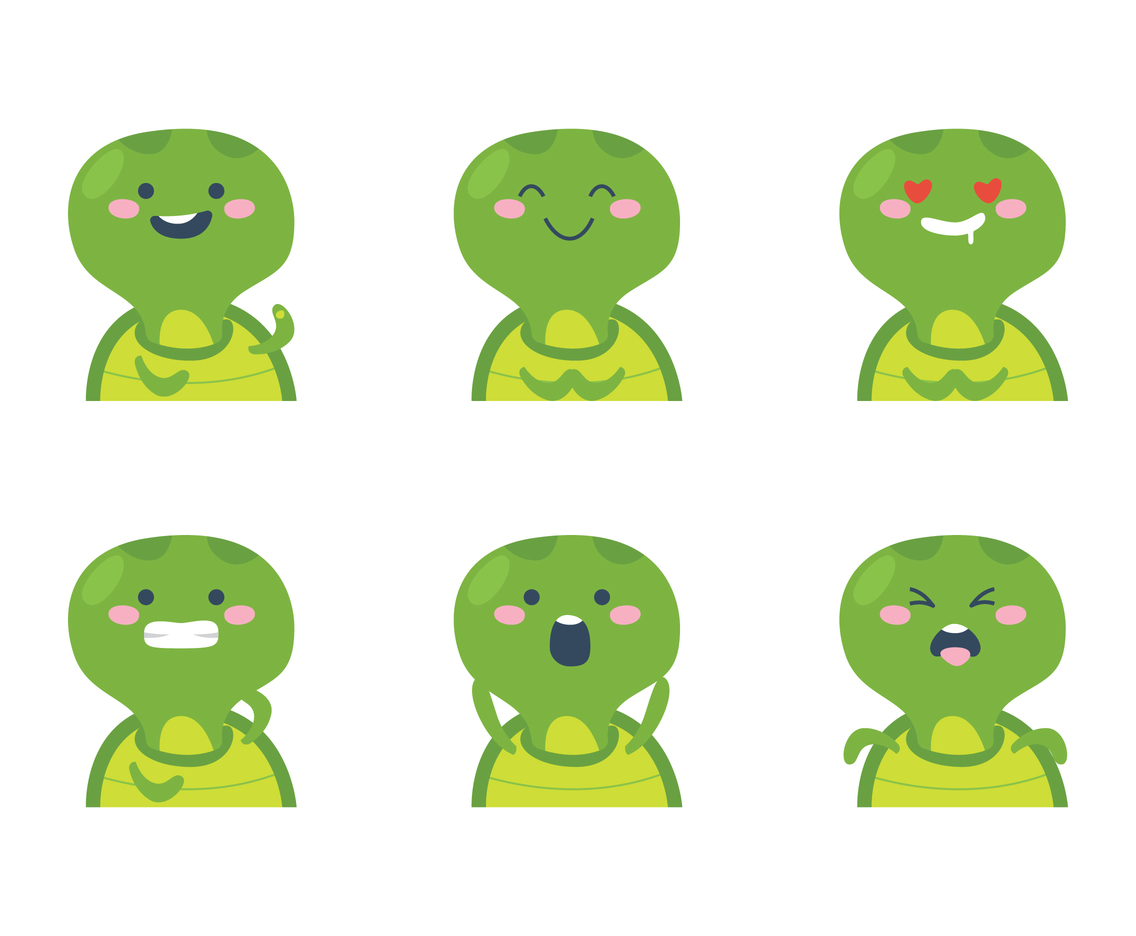 Turtle Face Vector Art Graphics Freevector Com